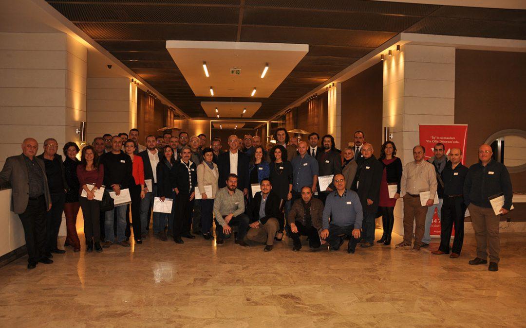 SmartMentor 1. ve 2. grupları Sertifika Dağıtım Töreni