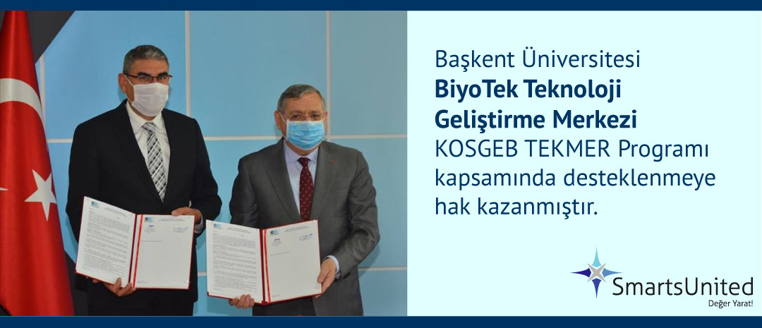 """Başkent Üniversitesi'ne KOSGEB Destekli """"BiyoTek TEKMER"""""""